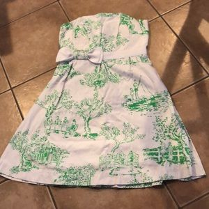 Lilly Pulitzer Strapless Dress 4